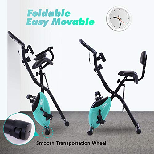 BTM G500 Folding Cycling Exercise Bike