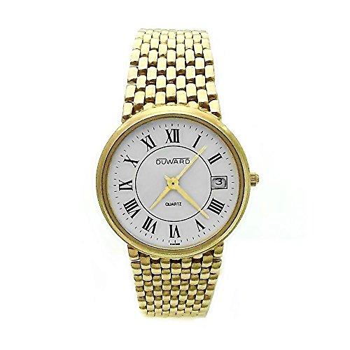 Reloj Duward Oro 18K Hombre Panter Liso Cierre Oculto 6324 [Ab3893] - Modelo: 6324