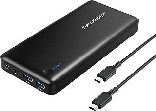 USB-C 充電器 RAVPower 20100mAh Type-C USBハブ モバイルバッテリー ( PD対応 Type-Cケーブル付 USB3.0 データ転送可能) MacBook / Matebook / XPS / スマホ など対応 RP-PB059