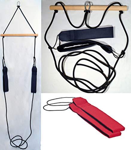 H&K-Sportperformance - Cinghia di sospensione funzionale per allenamento, incluso distanziatore e passanti in colore rosso