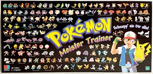 Pokémon Meister Trainer by MB Spiele