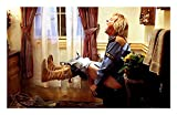 Canvas Painting Harry Toilet Scene Movie Funny Poster Wall Art Funny Bathroom Painting Modern Art Picture Print Gifts Artist Home Decor Artwork for Living Room Bed Room Wall Decoration No Frame