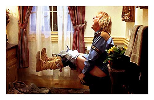 Canvas Painting Harry Toilet Scene Movie Funny Poster Wall Art Funny Bathroom Painting Modern Art...