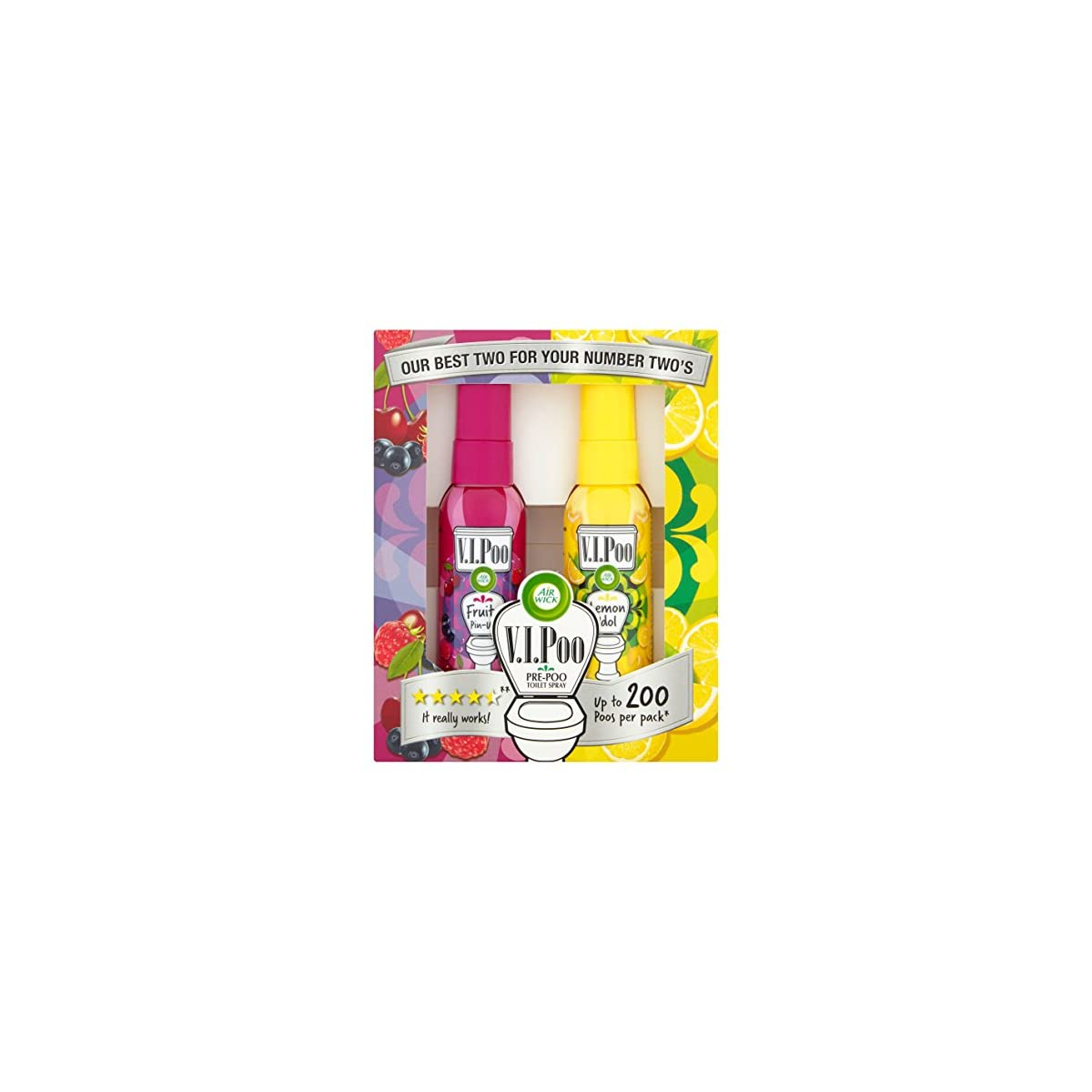 VIPoo toilet spray funny gift for her