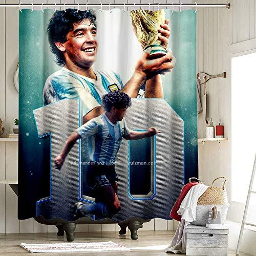 Cortinas de baño Moda Cortina de ducha Maradona