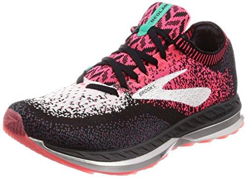 Brooks Womens Bedlam Running Shoe - Pink/Black/White - B - 8.0