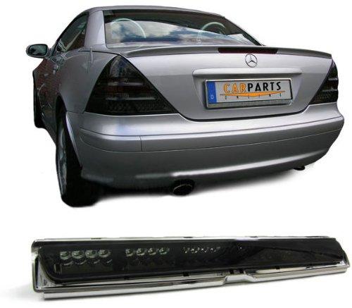 Verre de 3. feu stop noir/transparent fumé plastique extérieur W208 + R170 (voir voitures compatibles dans la description du produit)