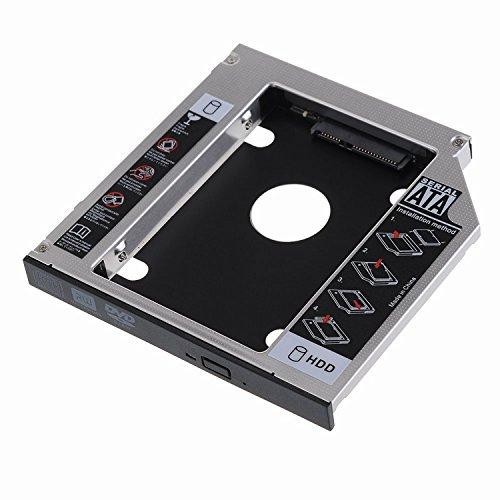 Adattatore HDD SSD SATA III per drive CD DVD Blu-Ray altezza 12.7mm