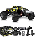 1:16 Brushless Large RC Cars 55+ kmh Speed - Kids and Adults Remote Control Car 4x4 Off Road Monster Truck Electric - All Terrain Waterproof Toys Trucks for Boys, Girls - 2 Batteries for 40+ Min Play