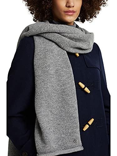 ESPRIT Mit Wolle: Schal mit Rollkanten