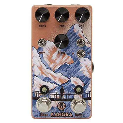 Walrus Audio Kangra Filter Fuzz Guitar Effects Pedal