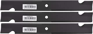 """Erie Outdoor Power Equipment 3 Mower Blades for Bobcat 42180B 112111-03 112243-03 WM142180B 101733 1520842 5020842 61"""" Deck"""
