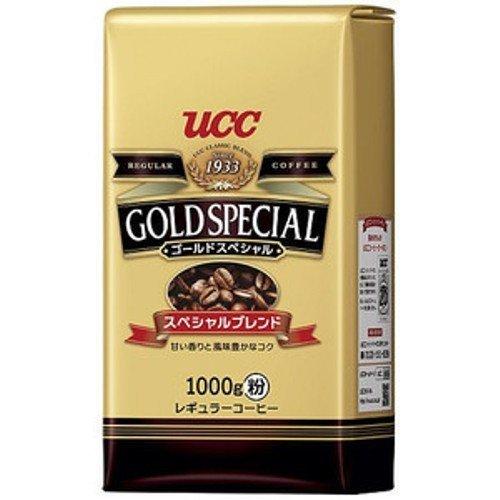 UCC ゴールドスペシャル スペシャルブレンド コーヒー豆 (粉) AP 1000g