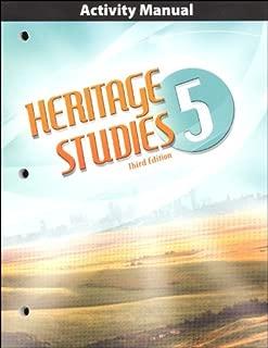 Heritage Studies Grade 5 Student Activities Manual 3rd Edition