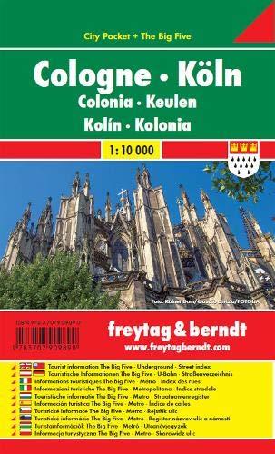 Koln (Cologne) City Pocket FB Map 1:10K (Germany) (English, Spanish, French, Italian and German Edition)