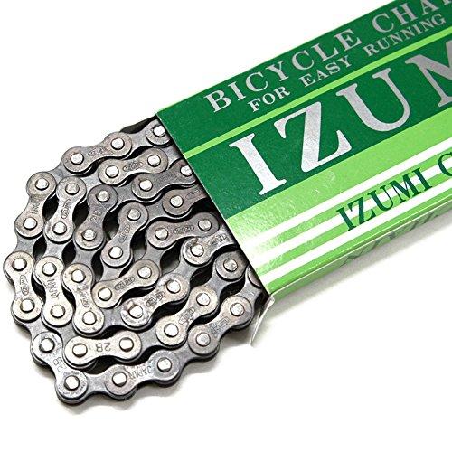IZUMI(イズミ) チェーン 1/2X1/8(410) リンク数:110 カラー:ブラック Y9SC4410STX