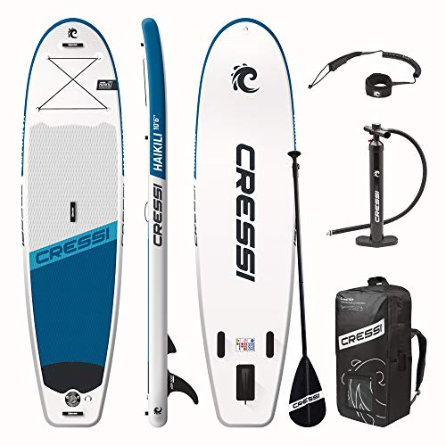Cressi Haikili Inflatable Sup 10.6 Tabla Inflable para Practicar Remo de pie