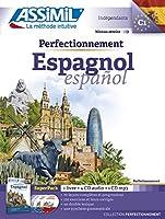 Superpack perfectionnement Espagnol (livre+4 Cd audio+1Cd mp3)