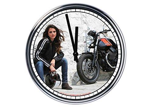Capricci Italiani Reloj de Pared Moto Guzzi 3