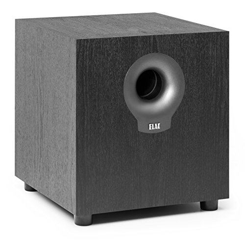 ELAC Debut S10.2 - Subwoofer, Color Negro