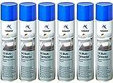 Normfest 6X Mehrzweck Grundierung 1K-Multi Connector Hellgrau Spray 400ml / pro Dose inkl. Einweg-Handschuhe