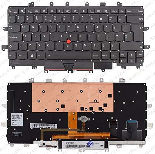 Unbekannt Lenovo Thinkpad X1 Carbon Gen 4 Tastatur mit Hintergrundbeleuchtung NSK-Z82BW 00PA727 F265