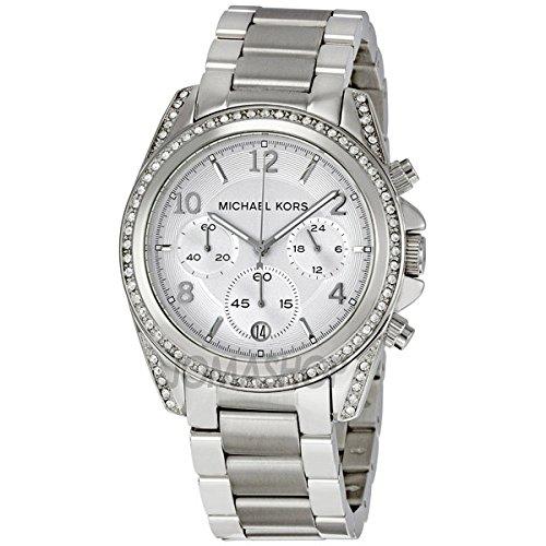 Michael Kors Michael Kors dames-chronograaf wit glas roestvrij staal MK5165