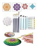 20PCS Kit De Herramientas De Pintura De Puntos Mandala Dotting Tools Kits De Pintura De Roca DIY Nail Art Painting Manicura Para Adultos Dibujo Infantil,Set