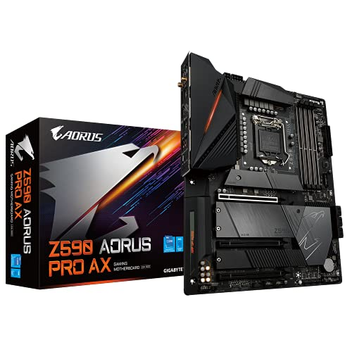 Gigabyte Z590 Aorus Pro AX, Intel Z590 Mainboard - Sockel 1200