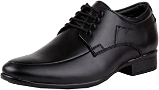 Zebra Men's Romanian Synthetic Leather Formal Shoes