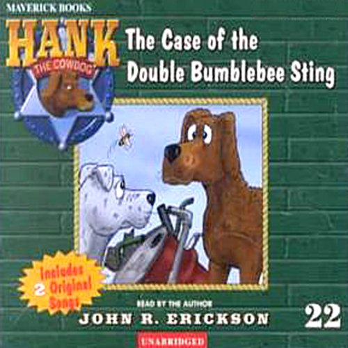 The Case of the Double Bumblebee Sting audiobook cover art