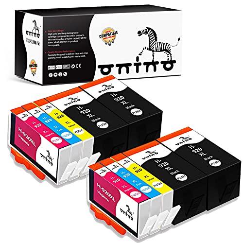 ONINO 920 920XL Cartuchos de Tinta Reemplazo para HP 920 Compatible con HP Officejet 7500A 7500 6000 6500 6500A 7000
