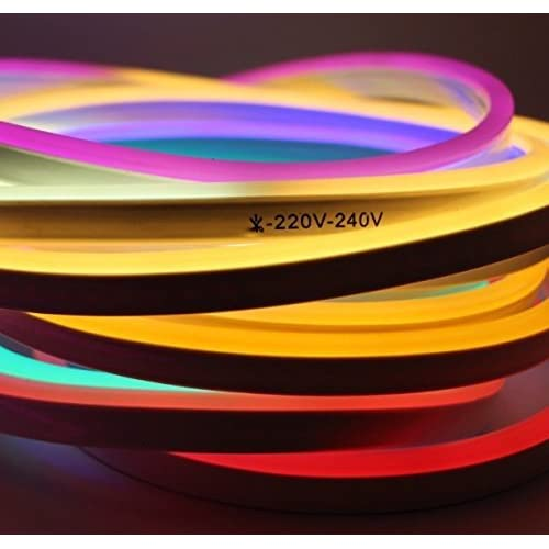 7 Meter LED Flexible Strip Light Neon Flex Tube Frosted Rope String Lamp For Diwali Christmas Home Decoration