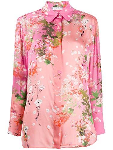 Luxury Fashion | Givenchy Dames BW60M912NW681 Roze Zijde Overhemden | Lente-zomer 20