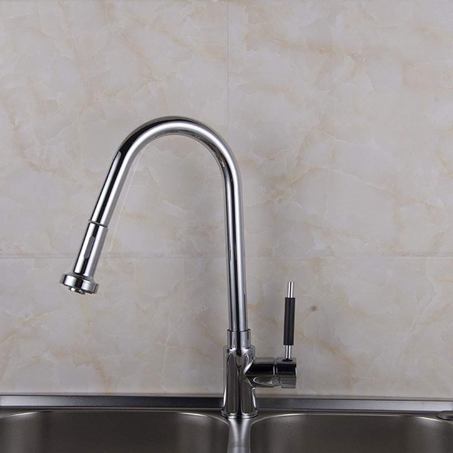 Kitchen Pull Faucet Copper hot and Cold Sink Faucet Sink Sink Sink Faucet