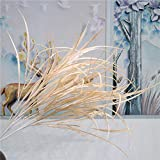 YTHXMXSZ Fleurs artificielles Mariage 5 grappes de Fourche Waterweed Reed...