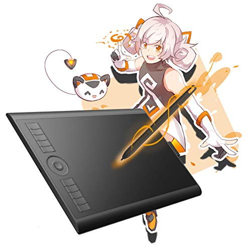 GAOMON M10K 2018Version-Tablette Graphique 10 x 6.25...