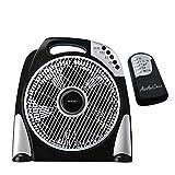 AirArtDeco Ventilatore da Tavolo Box Fan, Ultra Silenzioso Ventilatore da...