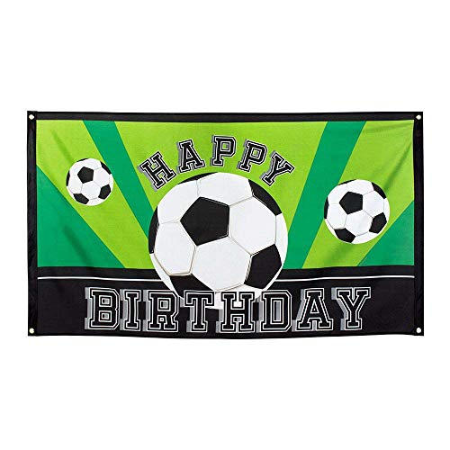 Boland BOL62502 Happy Birthday Foot Party, 90 x 150 cm