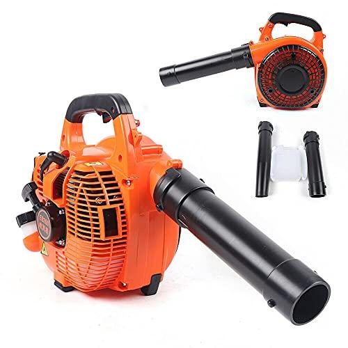 2-Stroke Handheld Leaf Blower Gas Powered Heavy Duty Grass Yard Cleanup 750W