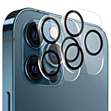 VASIVO Camera Lens Protector Compatible with iphone 12 pro max, HD Clear Tempered Glass Camera Lens Protector, 9H Hardness Ultra Thin Tempered Glass Film(2 Packs)