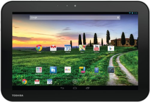 Toshiba AT10-A-103 25,7 cm (10,1 Zoll) eXcite Pure 3G Tablet-PC (NVIDIA Tegra T30L, 1,2GHz, 1GB RAM, 32GB eMMC, 3G/UMTS, Android OS) silber/schwarz