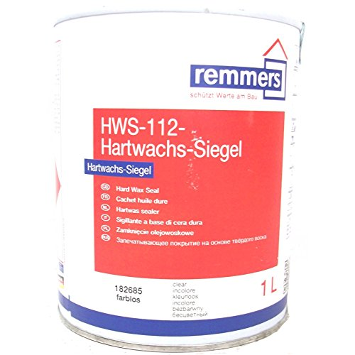 Remmers HWS-112-Hartwachs-SIEGEL, 1 LTR (FARBLOS)
