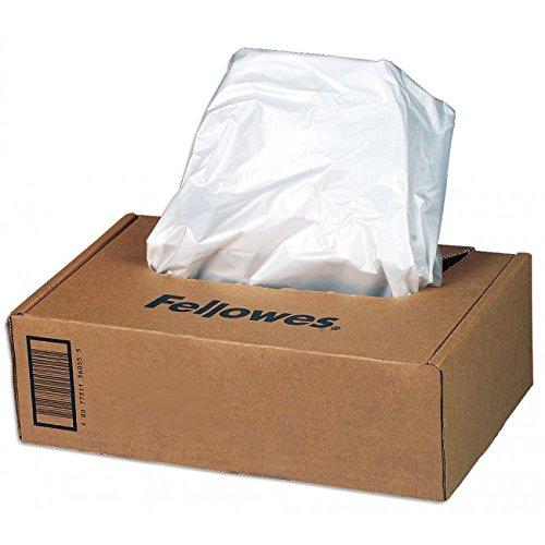 Fellowes Shredder Bags Paper Shredder Accessory–Paper Shredder Zubehör (194mm, 102mm, 78mm, 1.4kg, 50PC (S))