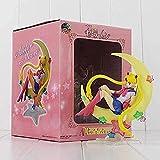 No Japón Anime Sailor Moon Tsukino Figura de Acción de Juguete PVC Anime Figura Anime Figurine Doll ...