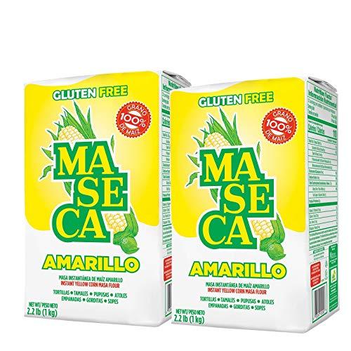 Maseca Instant Yellow Corn Masa Flour 2.2lb   Masa Instantanea de Maiz Amarillo 1kg (2)
