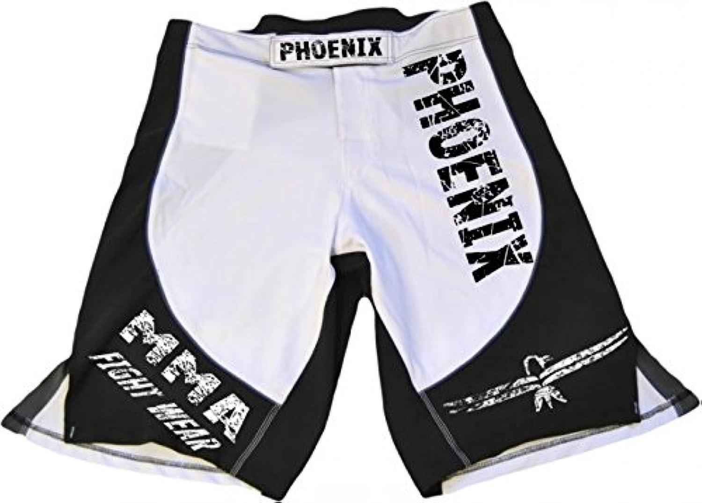 Phoenix MMA Shorts schwarz-weiß-grau, Stretch, Größe S von Phoenix Phoenix Phoenix Budosport B01M0LGR7X  Gewinnen Sie hoch geschätzt 96729b
