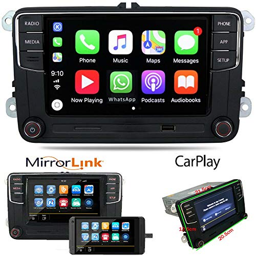 Autoradio RCD360 RCD330 Carplay Bluetooth USB RVC Für Golf Passat Polo Tiguan Caddy Jetta CC EOS