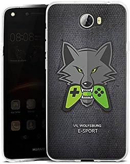 DeinDesign Huawei Y5II 3G Silikon Hülle Case Schutzhülle VFL Wolfsburg Esport Merchandise Fanartikel