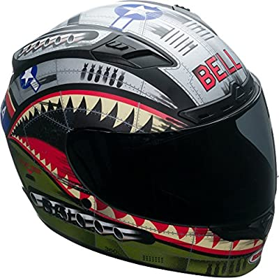 Bell Qualifier DLX MIPS Full-Face Motorcycle Helmet (Devil May Care Matte, Medium) by Bell